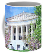 Historical Museum In Spring Coffee Mug