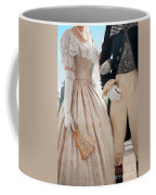 Historical Couple Linking Arms Coffee Mug