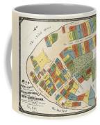 Historical Map Of Manhattan Coffee Mug