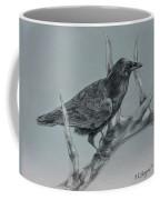 Hitchhiker Drawing Coffee Mug