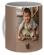 Hmong Boy Coffee Mug by Adam Romanowicz