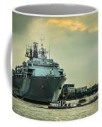 Hms Bulwark Coffee Mug