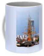 Hms Warrior Portsmouth Coffee Mug by Terri Waters