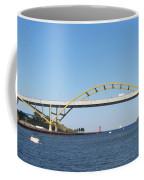 Hoan Bridge Boats Light House 4 Coffee Mug