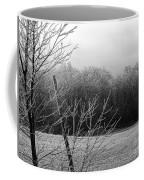 Hoar Frost On The Wood Coffee Mug