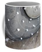 Hoarfrost On Tire Coffee Mug