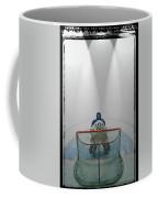 Hockey Goalie In Crease Coffee Mug