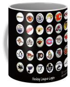 Hockey League Logos Bottle Caps Coffee Mug