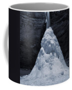 Hocking Hills State Park In Winter Coffee Mug by Dan Sproul