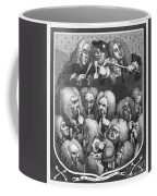 Hogarth: Physicians, 1736 Coffee Mug