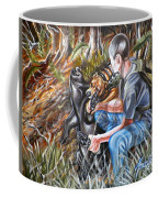 Hogdog And Hunter Coffee Mug