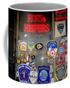 Hogs And Heifers Window Coffee Mug
