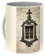 Hohes Schloss Window Coffee Mug