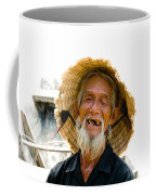 Hoi An Fisherman Coffee Mug by David Smith