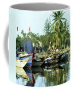 Hoi An Fishing Boats 01 Coffee Mug