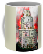 Holding The Financial Fort Coffee Mug