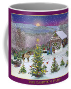 Holiday At Campton Farm New Hampshire Coffee Mug