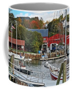 Holiday At Rockport Coffee Mug
