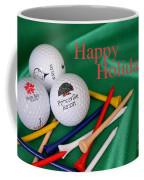 Holiday Golf Coffee Mug