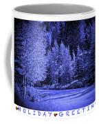 Holiday Greetings - Vail - Colorado Coffee Mug