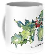 Holiday Holly Coffee Mug