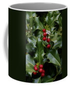 Holiday Holly Coffee Mug