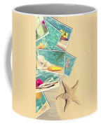 Holiday Postcards Coffee Mug by Amanda Elwell