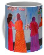 Holiday Shoppers On Prince Island Coffee Mug