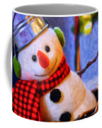 Holiday Snowman Coffee Mug