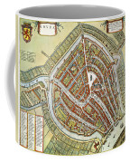 Holland: Gouda Plan, 1649 Coffee Mug