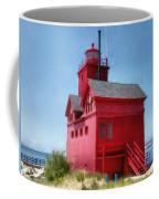 Holland Harbor And Big Red Coffee Mug