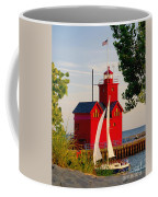 Holland Lighthouse Coffee Mug