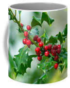 Holly Berries Coffee Mug