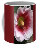 Hollyhock Flower Coffee Mug