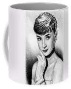 Hollywood Greats Hepburn Coffee Mug by Andrew Read