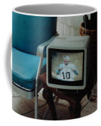Holy Cow Phil Rizzuto Retired Yankee Number On 08 04 1985 Coffee Mug