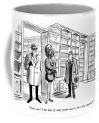 Holy Cow!  What Kind Of Crazy People Used To Live Coffee Mug
