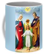 Holy Family With Cross Coffee Mug