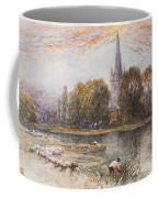 Holy Trinity Church On The Banks If The River Avon Stratford Upon Avon Coffee Mug