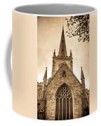 Holy Trinity Stratford On Avon Sepia Coffee Mug