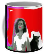 Homage Hedy Lamarr Nude Extasy 1932 Screen Capture Collage 1932-2012 Coffee Mug