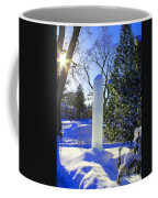 Homage To Winter In The City Coffee Mug