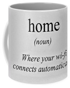 Home And Wifi Coffee Mug