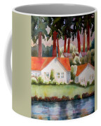 Home By The Lake Coffee Mug by Blenda Studio