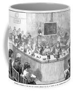 Home Economics Class, 1886 Coffee Mug