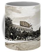 Home Field Advantage - Sepia Toned Texture Coffee Mug
