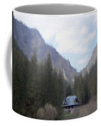Home In The Mountains Coffee Mug