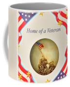 Home Of A Veteran Coffee Mug