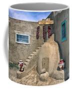 Home On Taos Pueblo Coffee Mug by Sandra Bronstein