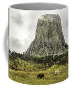 Home On The Range At Devils Tower Coffee Mug
